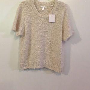 💋Lauren Conrad Winter white Sweater. NWT SZ XXL💋